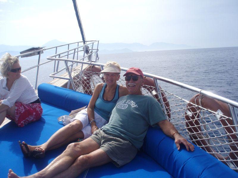 Dad & Sara Gulet